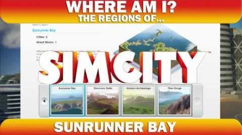 Where Am I? The regions of SIMCITY Sunrunner Bay