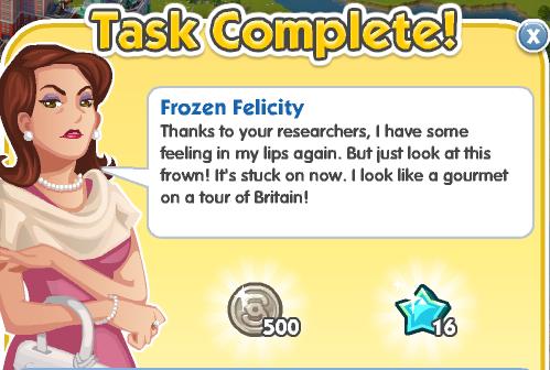 Frozen Felicity - Complete