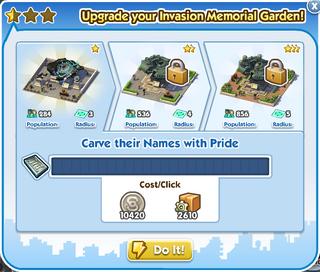 Invasion Memorial Garden S0-1