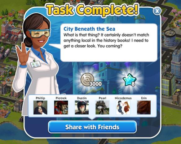 City Beneath the Sea Done