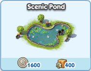 Attraction scenic pond