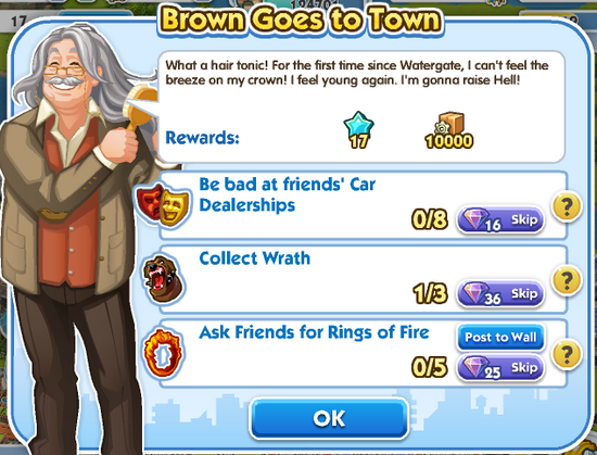 Quest - Brown Goes to Town