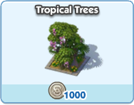 Tropical Trees 1