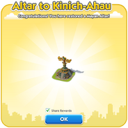 Altar to Kinich-Ahau Dialog