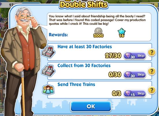 Quest - Double Shifts