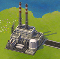 Gas Power Plant