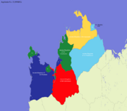 Ancient Map of Aquitania