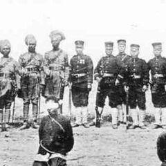 Calzadorians prepare to execute Sagarans