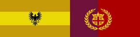 Aquitanian-Romaion Flag