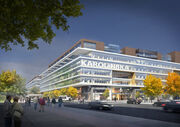 Karolinska Hospital, Lower Savoy