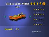 Globex Super Villain Car - Phone Booth
