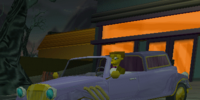 Mr. Burns' Limo