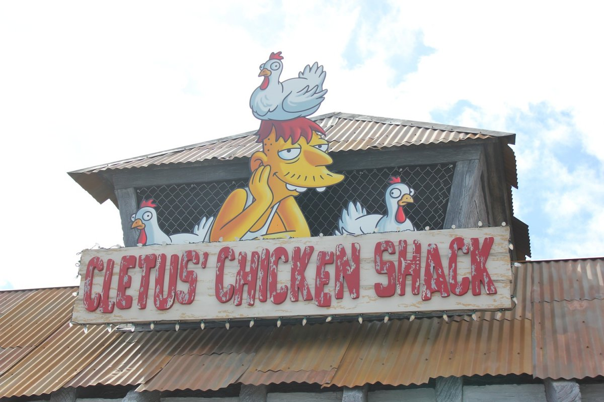 Cletus Chicken Shack Simpsons Restaurants Wiki Fandom Powered By Wikia