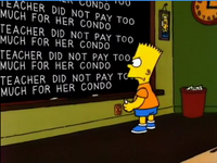 The teacher did not pay too much for her condo