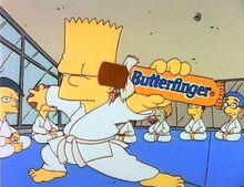 Butterfinger-karate