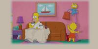 Cat Stevens couch gag