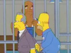 Green mile simpsons