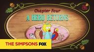 "THE SIMPSONS A Hero Returns from ""Puffless"" ANIMATION on FOX"