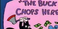 The Buck Chops Here