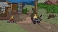 HomerBartMotorcycleWay