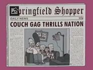 Marge Gamer Couch Gag