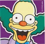 Krusty Picture Card