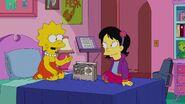 Tumi in Lisa's room
