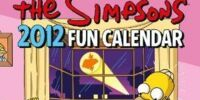 The Simpsons Calendar 2012