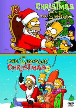 File:Christmas with the Simpsons & The Simpsons Christmas 2.png