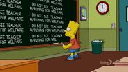 Loan-a Lisa Chalkboard Gag
