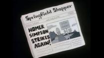 HomerNewspaperSign