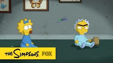"Maggie Simpson in ""The Longest Daycare"" The Simpsons ANIMATION on FOX"