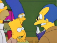 Teacher talks to bart