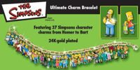 The Simpsons Ultimate Charm Braclet