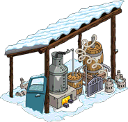 Moonshine Shack Tapped out