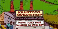 Krustyco Sweatshop