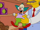 The Dad Who Knew Too Little -Tickle me Krusty doll
