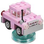 Lego Dimensions Homer Simpson's Car