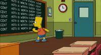 Simpsons chalkboard gag