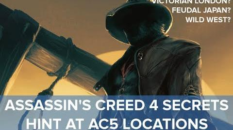 Assassin's Creed 4 - Secret Hints at AC5 Locations - Eurogamer