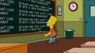Homerland Chalkboard Gag