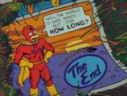 Radioactive Man 1 Ending