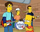 Simpsons blink182 bart