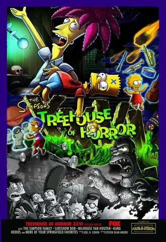 File:Treehouse of Horror XXVI Poster.JPG