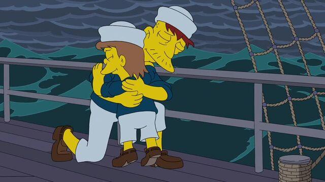 File:Cletus and Gitmo Hugging.JPG