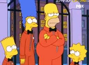 Simpsons Prison Jumpsuits