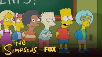 Bart Gets In Trouble For Making Up Lyrics To The Class Song Season 28 Ep. 19 THE SIMPSONS