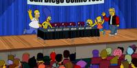 San Diego Comic Fest couch gag