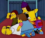 Bullies plus Bart beating Kearney