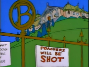 Burns Manor (There's No Disgrace Like Home)